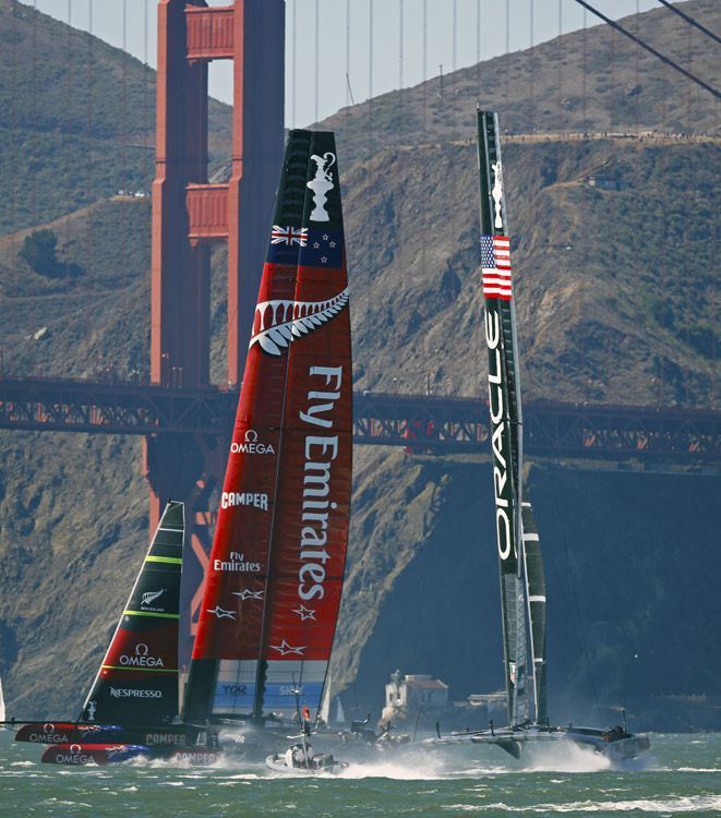 America's Cup Races 9 and 10 Photo:�2013 Jan Pehrson