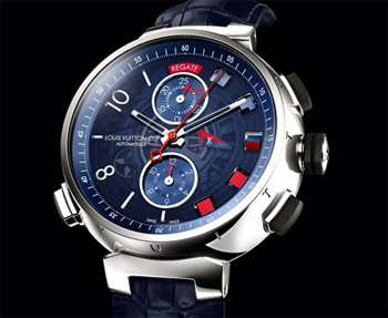 LV Tambour Spin Time Regatta. Image:�2012 Louis Vuitton