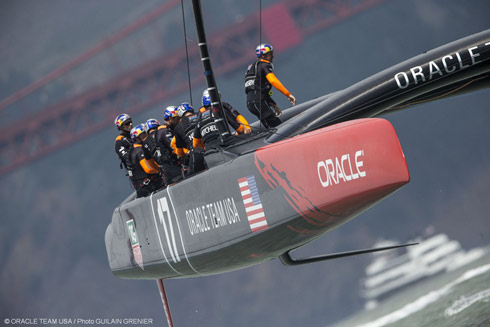 Photo:�2013 Oracle Team USA/Guilain Grenier